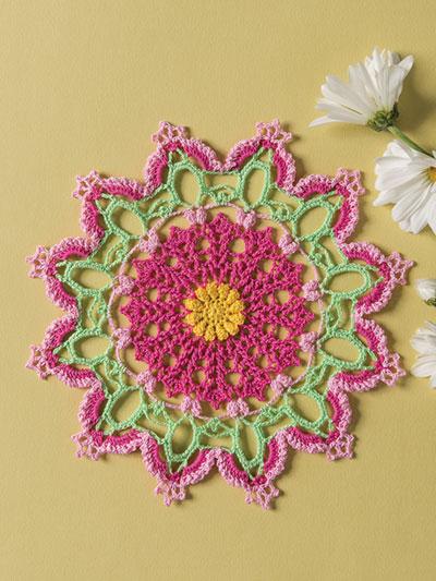 Blazing Azalea Crochet Pattern