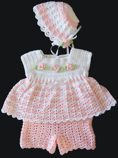 Jamie Baby Set Crochet Pattern Pack