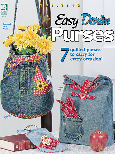 Easy Denim Purses - Electronic Download (V141140) photo