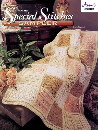 Special Stitches Sampler Crochet Pattern - Electronic Download