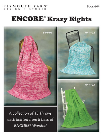 Encore® Krazy Eights Knit Pattern