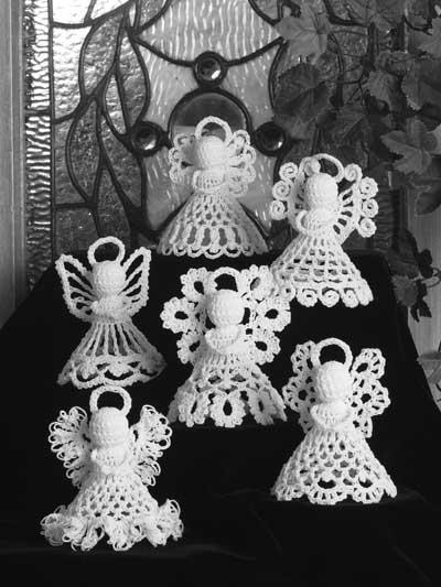 Itty Bitty Angels Crochet Pattern