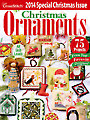 Just CrossStitch Christmas Ornaments 2014
