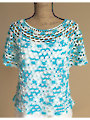 Oceanside Crochet Top