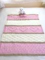 Baby Heart Blanket Knit Pattern