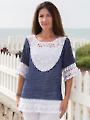 ANNIE'S SIGNATURE DESIGN: Seacliff Tunic Crochet Pattern