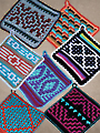 Native American Potholders