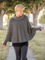 ANNIE'S SIGNATURE DESIGNS: Forevermore Poncho Knit Pattern