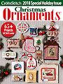 Just CrossStitch Ornaments 2018