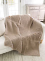 ANNIE'S SIGNATURE DESIGNS: Gansey Block Crochet Afghan