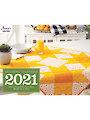 2021 Quilter's World Calendar