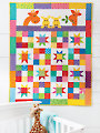 EXCLUSIVELY ANNIE'S QUILT DESIGNS: Good Night Baby Quilt Pattern