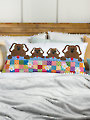 EXCLUSIVELY ANNIE'S QUILT DESIGNS: Dog Tired Pillow Pattern