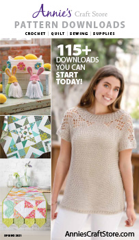 Shop the Spring 2021 Pattern Downloads Catalog