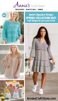 Shop the March 2021 Crochet Catalog
