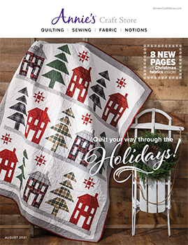 Shop the August 2021 Quilt & Sew Catalog