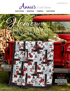 Shop the Septembe 2021 Quilt & Sew Catalog