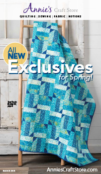 Shop the March 2021 Quilt & Sew Catalog