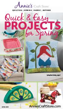 Shop the April 2021 Quilt & Sew Catalog