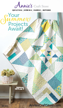 Shop the May 2021 Quilt & Sew Catalog