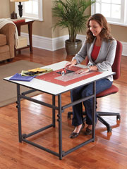 Adjustable Add-A-Table