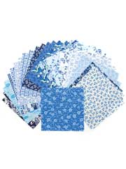 Just Blues Charm Pack-32/pkg.