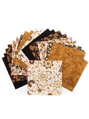 Sarah's Garden Brown Charm Pack-24/pkg.