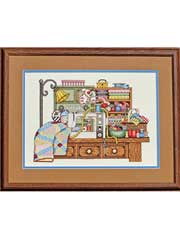 The Sewing Room Cross-Stitch Kit