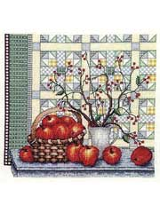 Apple of My Eye Cross-Stitch Kit