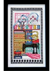 Sewing Notions Cross-Stitch Kit