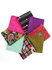Garden Strings Fat Quarters-8/pkg.