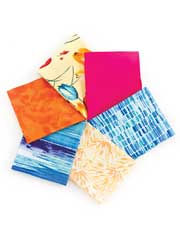 Tulip Assortment Fat Quarters-6/pkg.