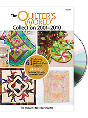 Quilter's World 2001-2010 DVD