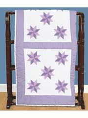 "8 Point Star Cross Stitch 18"" Quilt Blocks"