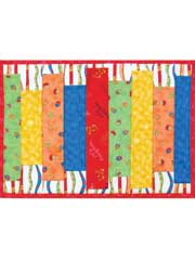 Simple Strips Place Mat Pattern