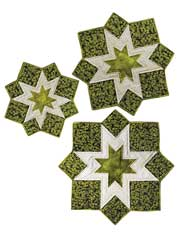 Triplet Table Topper & Place Mat Pattern