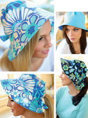 Reversible Sun Hat Sewing Pattern