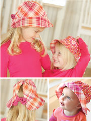 Simple Sunbonnet Sewing Pattern