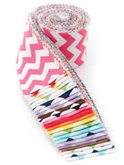 Small Chevron Jelly Roll-24pkg.