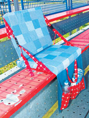 Take Along Seat Sewing Pattern