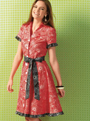 Misses' Dress & Belt Sewing Pattern