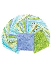 Rainy Days Batik Charm Pack-60/pkg.