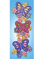 Butterfly Trio Plastic Canvas Kit