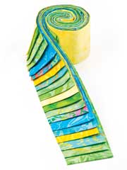 Barrier Reef Batik Jelly Roll-20/pkg.