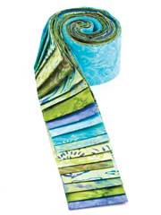 Rainy Days Batik Jelly Roll-20/pkg.