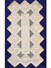 Star Runner Hardanger Table Runner Pattern