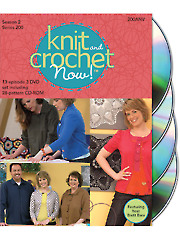 Knit and Crochet Now! Season 2 DVDs