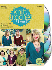 Knit and Crochet Now! Season 3 DVDs