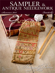 Sampler & Antique Needlework Quarterly Summer 2013