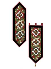 Happy Holiday Table Runner & Wall Hanging Pattern